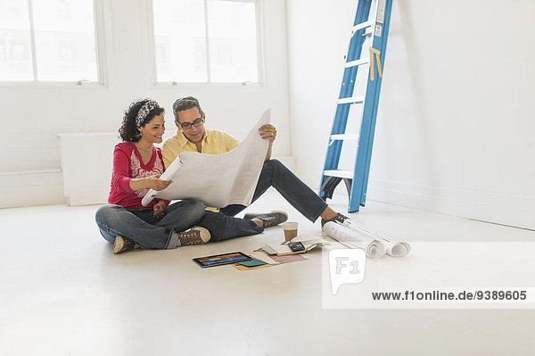 Vorbereitung Renovierung Eigentumswohnung neues Zuhause