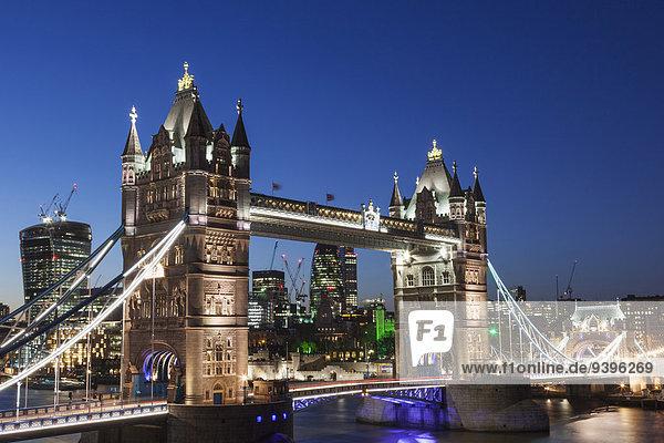 Europa London Hauptstadt England Tower Bridge
