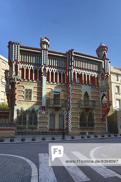 Europa Gebäude Reise Architektur Tourismus Barcelona Katalonien Spanien