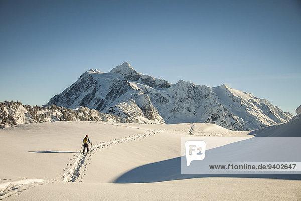 gehen Berg Schneeschuh Mount Shuksan