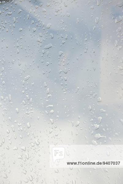Glas Wassertropfen Tropfen