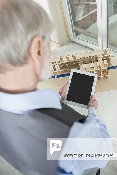 bauen Gebäude Architekt Tablet PC neu