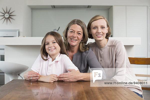 Portrait Familie - Mensch Mutter und Tochter