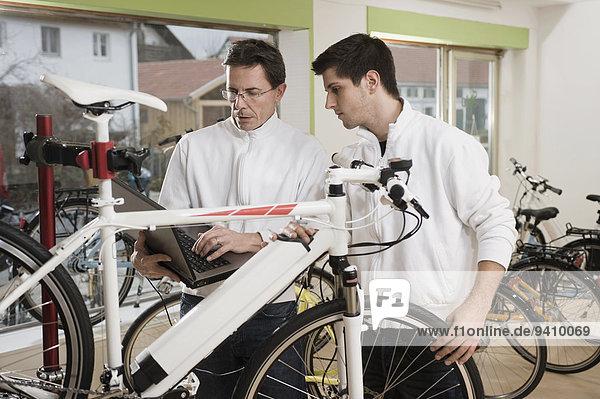 Notebook Prüfung Mechaniker Elektrische Energie Fahrrad Rad