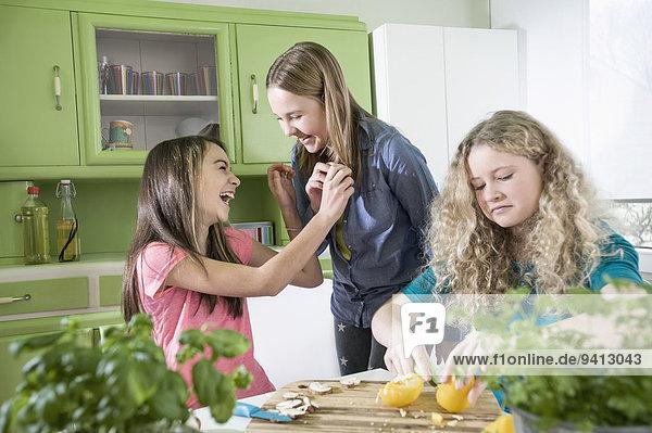 Küche Mädchen