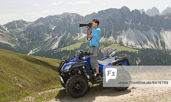 Berg Landschaft Fotograf Quadbike