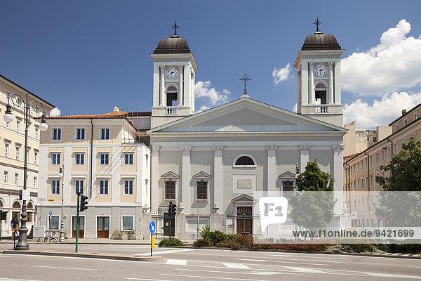 Griechisch-orthodoxe Kirche San Nicolò dei Greci  Triest  Friaul-Julisch Venetien  Italien