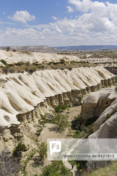 Taubental oder Güvercinlik Vadisi  Göreme Nationalpark  Provinz Nev?ehir  Kappadokien  Zentralanatolien  Anatolien  Türkei