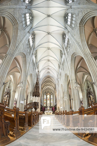 Innenaufnahme  Stiftskirche Admont  Stift Admont  Admont  Steiermark  Österreich