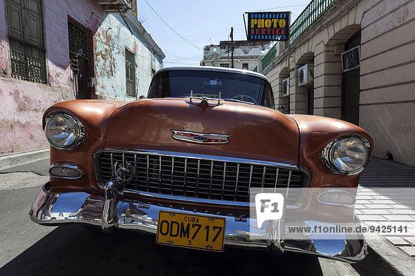 Oldtimer  Chevrolet  50er Jahre  Santiago de Cuba  Kuba
