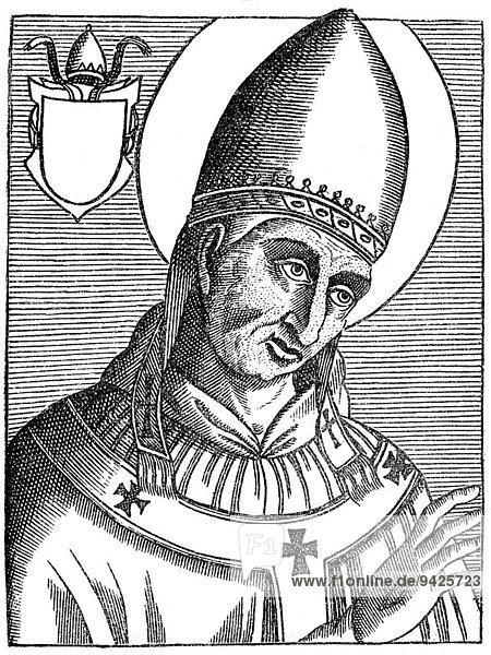 Pope Liberius  historical illustration