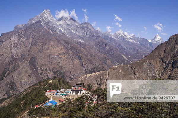 Kloster Tengboche  Khumbu  Solukhumbu  Mount Everest Region  Nepal