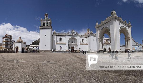 Basilika Nuesta Senora de la Candelaria  Copacabana  Laz Paz  Bolivien