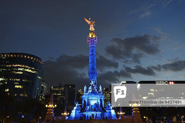 Unabhängigkeitsdenkmal  Angel de la Independencia  Monumento a la Independencia  Mexiko-Stadt  Distrito Federal  Mexiko