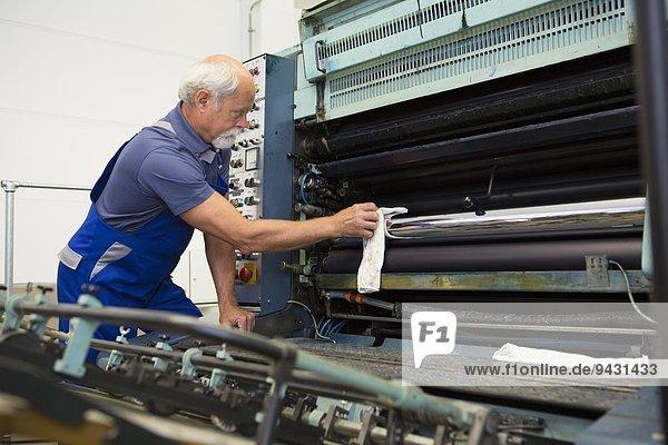 Fabrikarbeiter-Reinigungsmaschinen