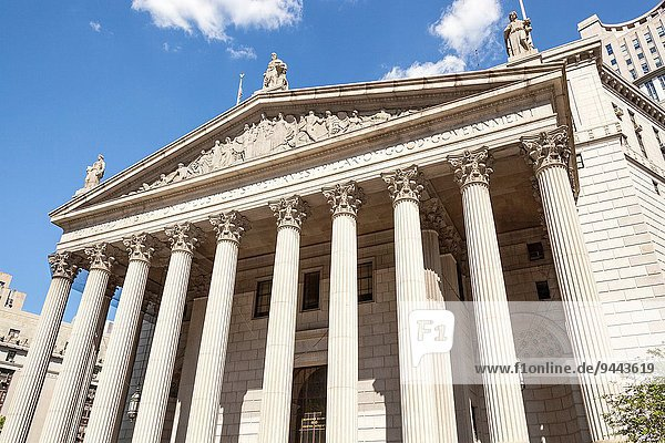 Vereinigte Staaten von Amerika USA New York City Gericht Manhattan neu
