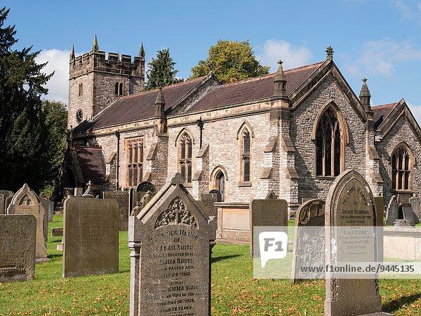 Wasser Kirche Heiligkeit Derbyshire Peak District