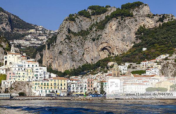 Ortsansicht  Amalfi  Provinz Salerno  Kampanien  Italien  Europa