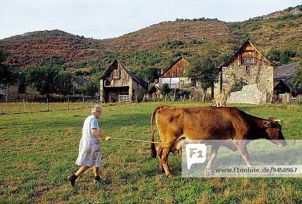 Frankreich Europa Dorf