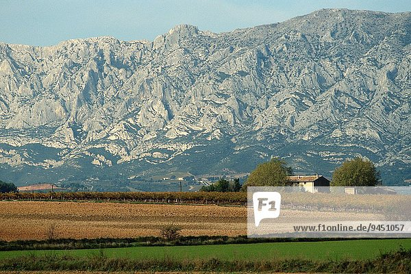 Frankreich Felsen strecken Heiligtum Kalkstein Trasse
