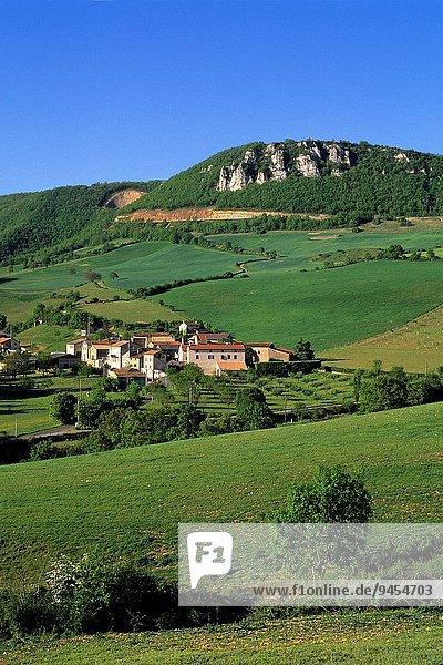 Frankreich Europa Geographie Weiler Millau