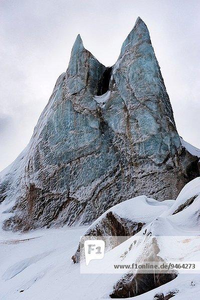 Anschnitt Spitzbergen Svalbard