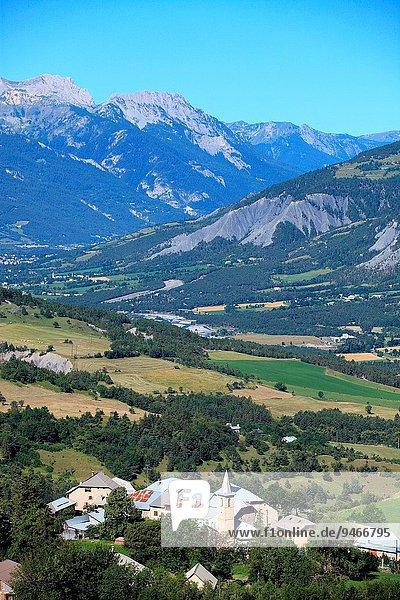 Frankreich Landschaft über Provence - Alpes-Cote d Azur