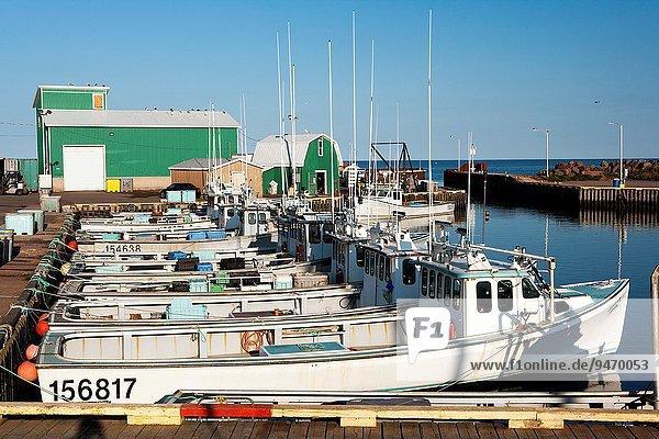 Hafen Kanada Teich Prince Edward Island