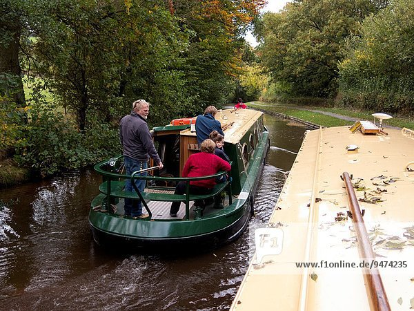 Flußboot Wales