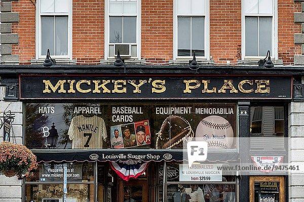 Vereinigte Staaten von Amerika USA New York City Souvenir Erinnerung Laden Baseball Platz