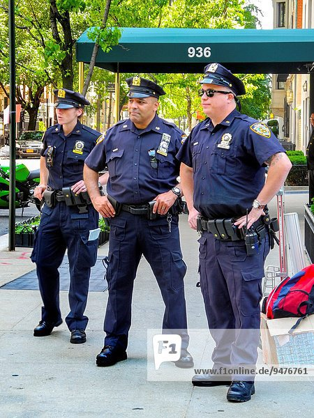 New York City Weg 2 1 Manhattan Polizei