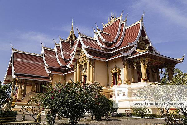 Pha That Luang  Ban Nongbone  Vientiane  Präfektur Vientiane  Laos  Asien