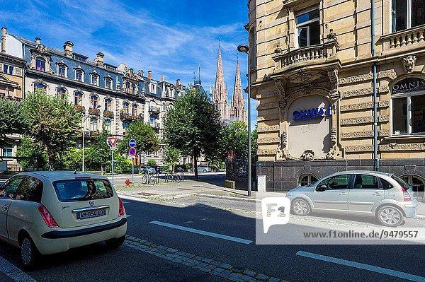 Frankreich Gebäude Nachbarschaft Elsass Jahrhundert Straßburg