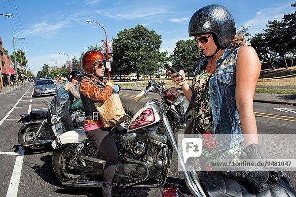 Motorrad Liebe Vancouver
