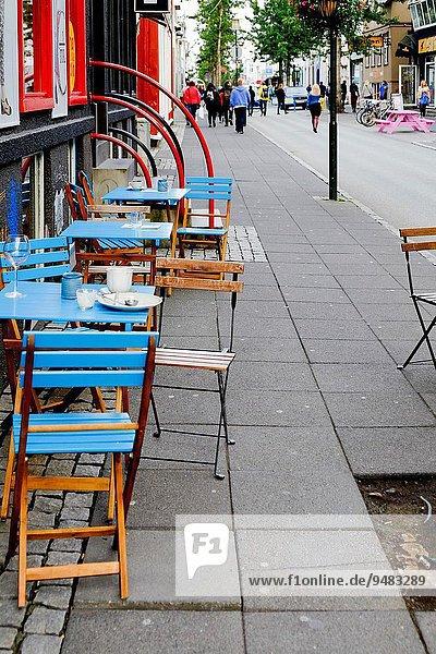 Reykjavik Hauptstadt Island Innenstadt