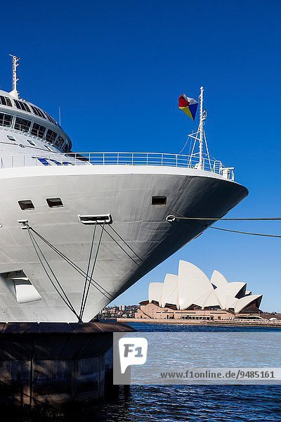 Opernhaus Oper Opern Kreuzfahrtschiff Australien New South Wales Sydney