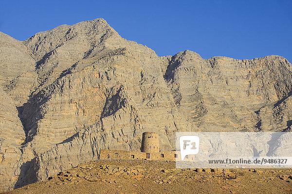Festung Bukha  Bukha  Musandam  Oman  Asien