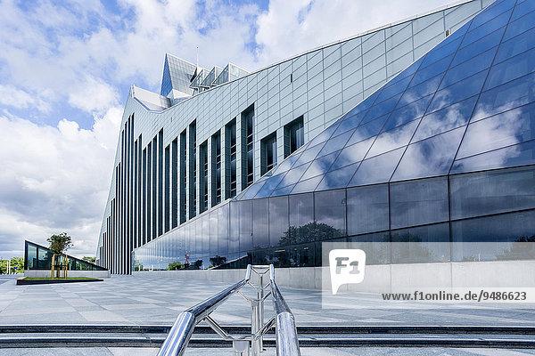 Lettische Nationalbibliothek  Riga  Lettland  Europa