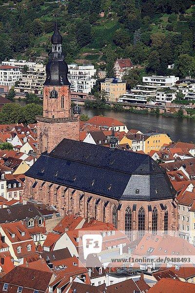 Kirche Heiligkeit Deutschland Heidelberg Baden Württemberg