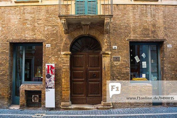 Wohnhaus Museum Komponist Italien Oper
