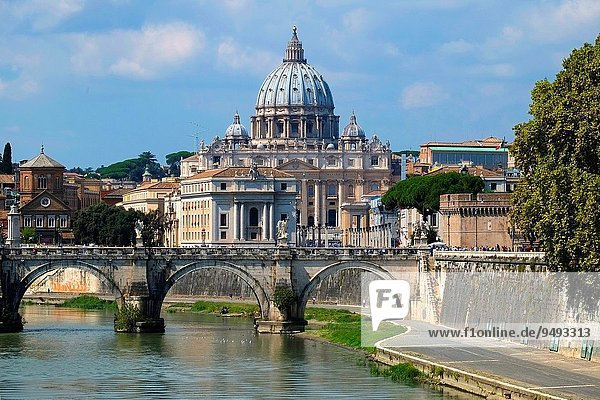 Rom Hauptstadt Europa Europäische Union EU Fluss Tiber Italien