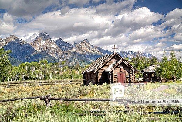 Vereinigte Staaten von Amerika USA Kapelle Wyoming