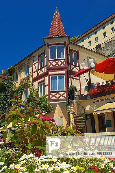 Europa Bodensee Deutschland Meersburg Baden-Württemberg