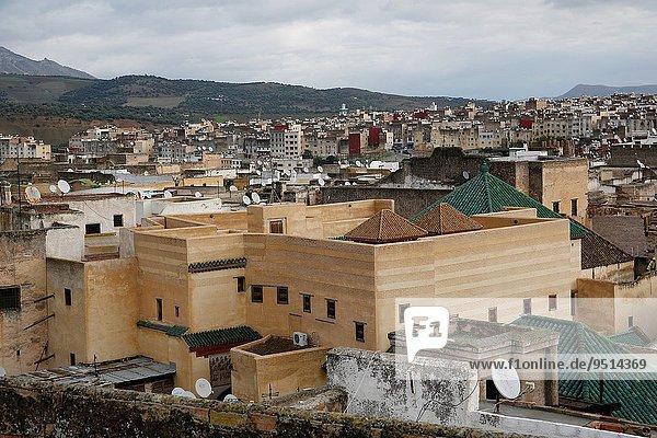 Nordafrika Fès Fez Großstadt Fes Marokko