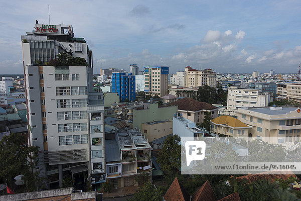 Cityscape  Can Tho  South Vietnam  Vietnam  Asia