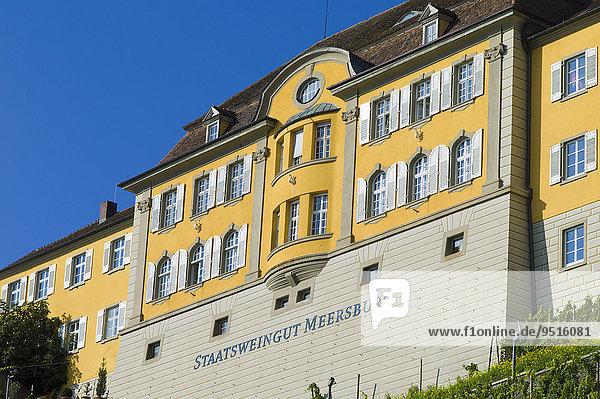 State Winery Meersburg  Meersburg  Bavaria  Germany  Europe