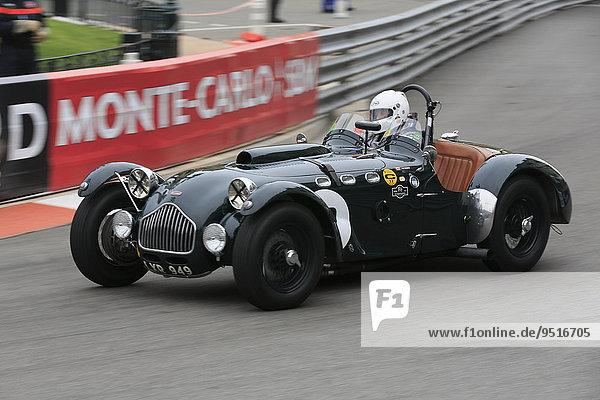 Allard J2  Baujahr 1951  Fahrer Robert Francis  Serie C Sportwagen  9. Grand Prix Historique Monaco 2014  Fürstentum Monaco