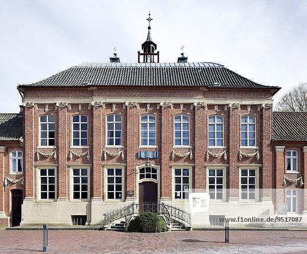 Kettlersches Haus von 1662  seit 1795 von der Mennonitengemeinde als Kirche genutzt  Norden  Ostfriesland  Niedersachsen  Deutschland  Europa