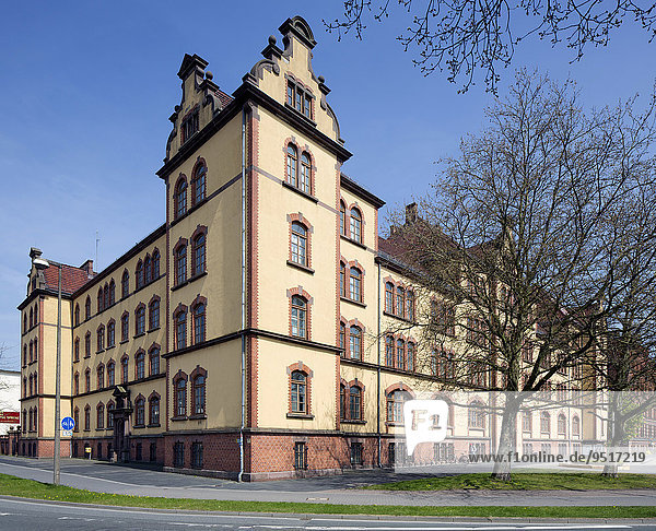 Ehemalige Kaserne am Pferdemarkt  heute Landesbibliothek  Oldenburg  Niedersachsen  Deutschland  Europa