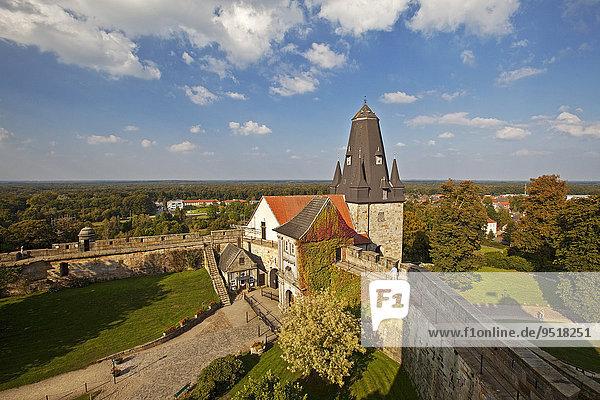 Burg Bentheim  Bad Bentheim  Niedersachsen  Deutschland  Europa